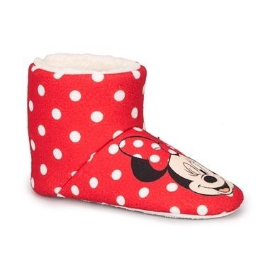 Mickey Mouse Panduf Kırmızı